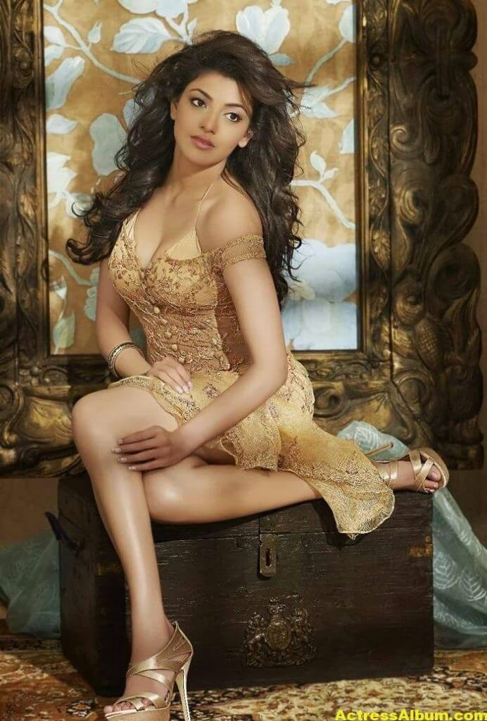 Exclusive Kajal Agarwal Photo Shoot 0