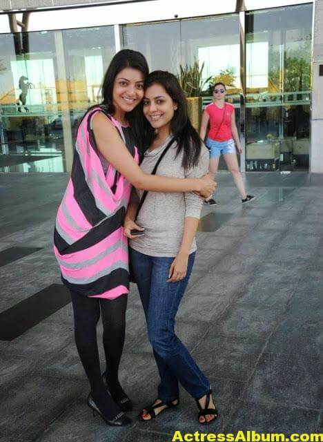 Kajal Agarwal With Nisha Aggrwal Photos (1)