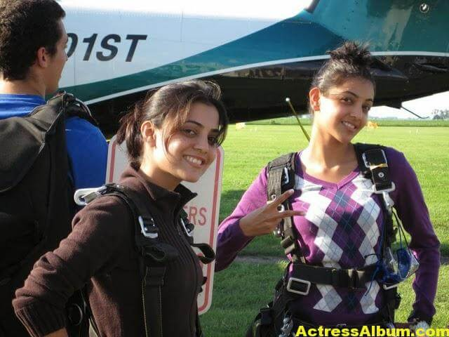 Kajal Agarwal With Nisha Aggrwal Photos (2)