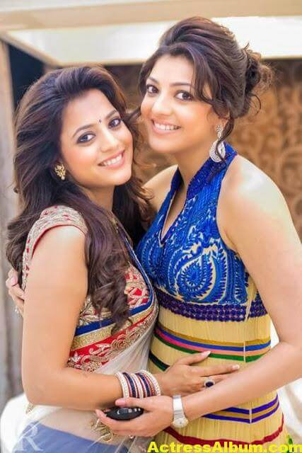 Kajal Agarwal With Nisha Aggrwal Photos (3)
