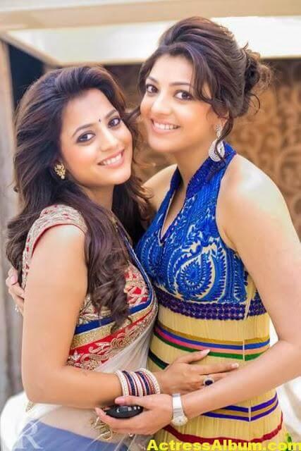 Kajal Agarwal With Nisha Aggrwal Photos (3)