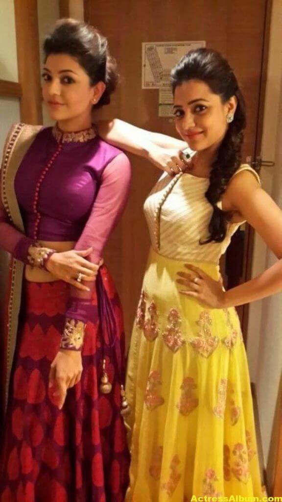 Kajal Agarwal With Nisha Aggrwal Photos (6)