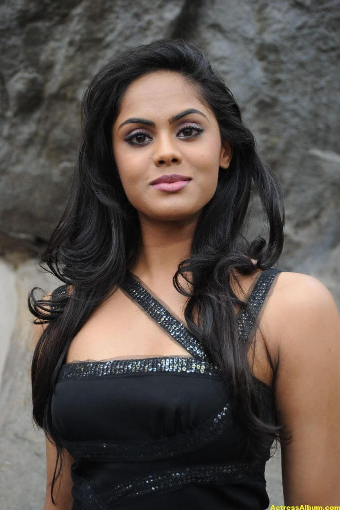 Karthika in Black Dress Photoshoot 1