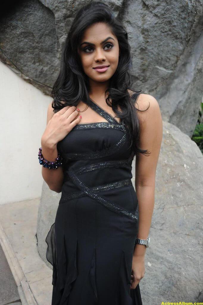 Karthika in Black Dress Photoshoot 3