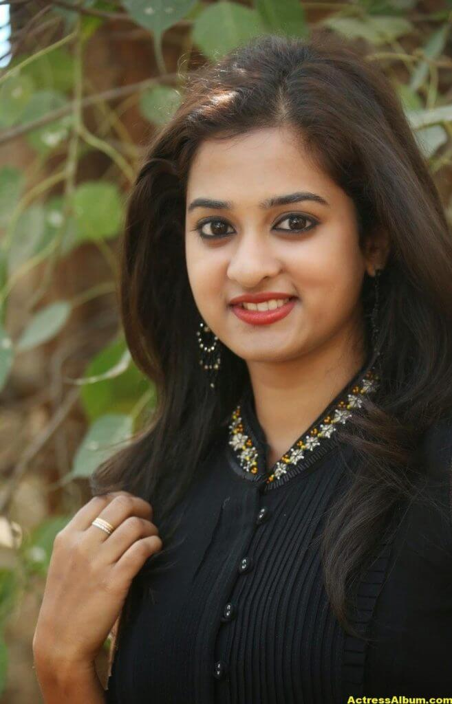 Nanditha Raj Latest Photo Gallery in Black Dress 1