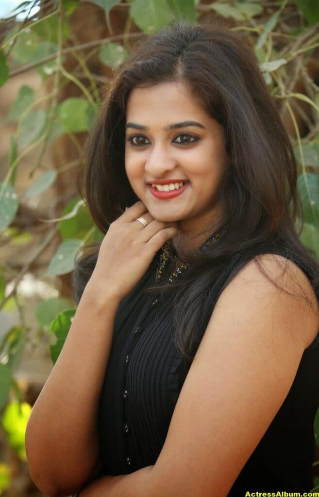 Nanditha Raj Latest Photo Gallery in Black Dress 2
