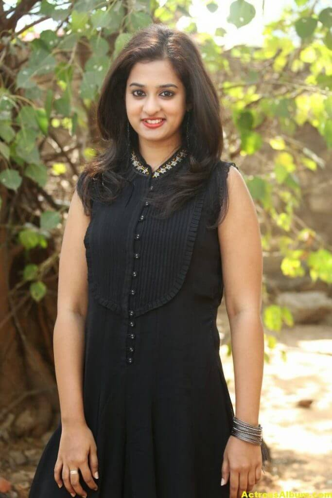 Nanditha Raj Latest Photo Gallery in Black Dress 4