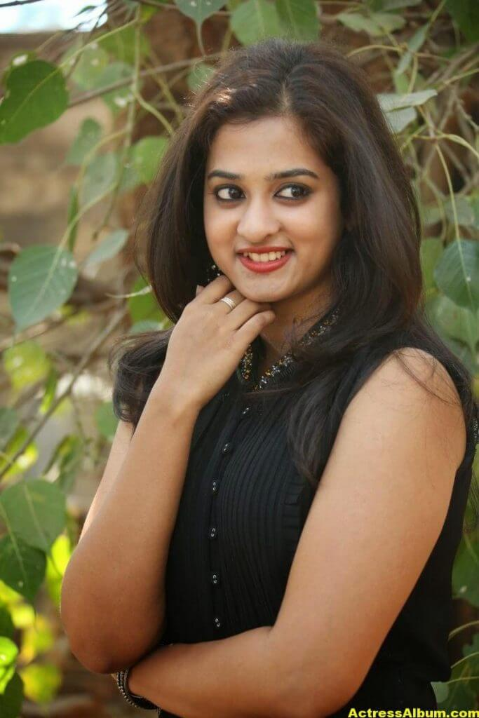 Nanditha Raj Latest Photo Gallery in Black Dress 7