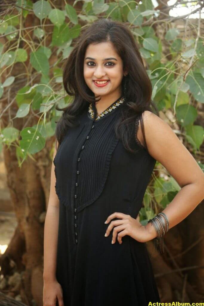 Nanditha Raj Latest Photo Gallery in Black Dress 8