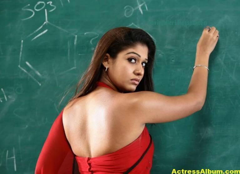 Nayanthara latest hot stills in saree 5