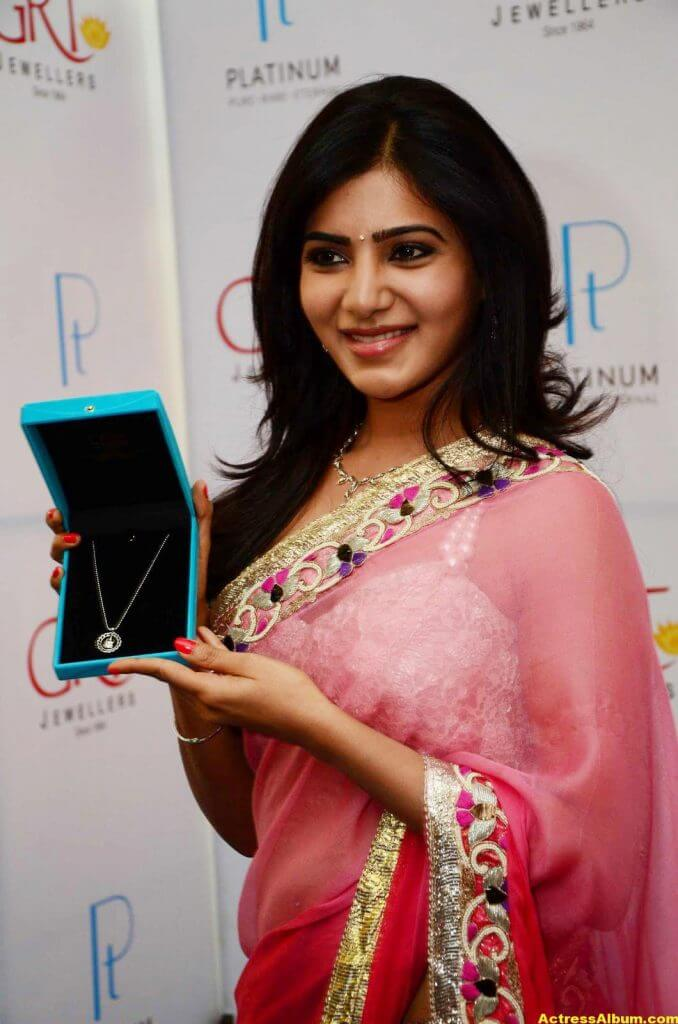 Samantha at GRT jewellery opening Stills 1