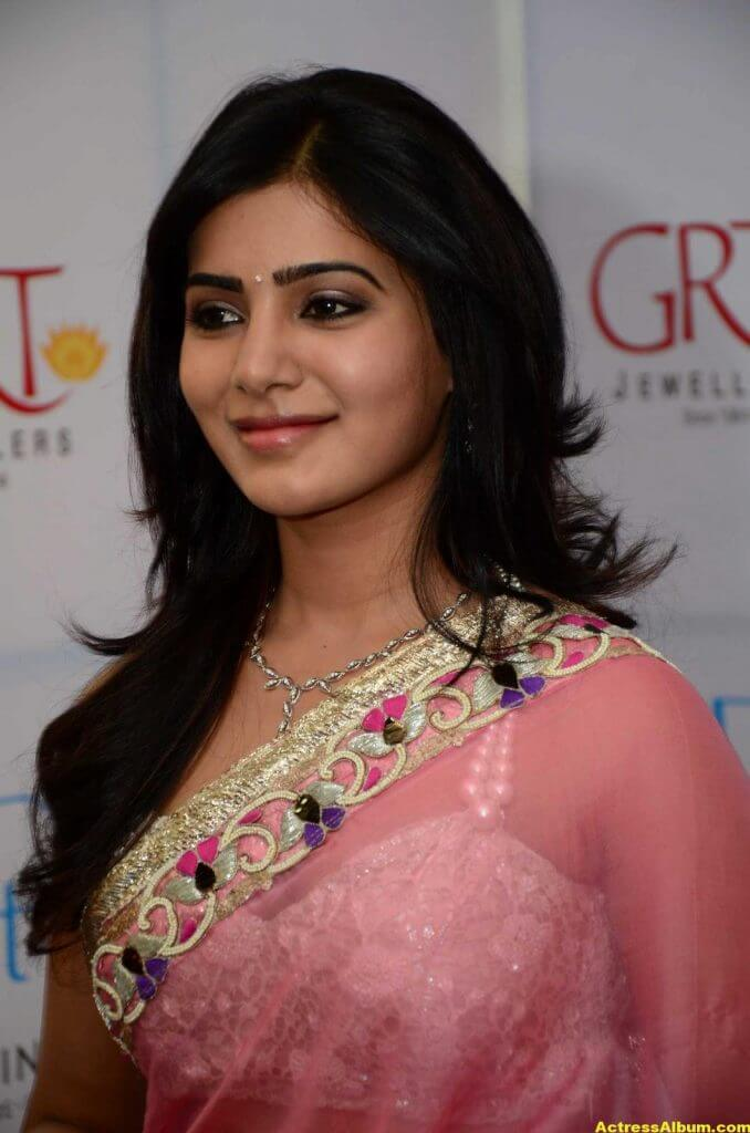 Samantha at GRT jewellery opening Stills 2