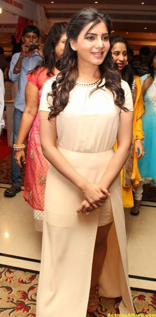 Samantha Photos Stills At The Inaugurates 7