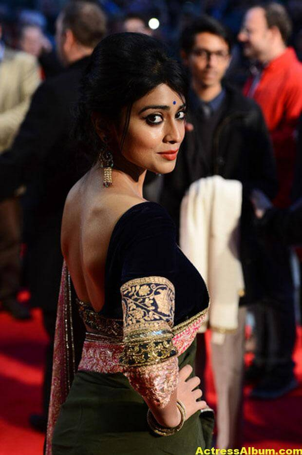 Shriya Saran Latest Saree Stills 6