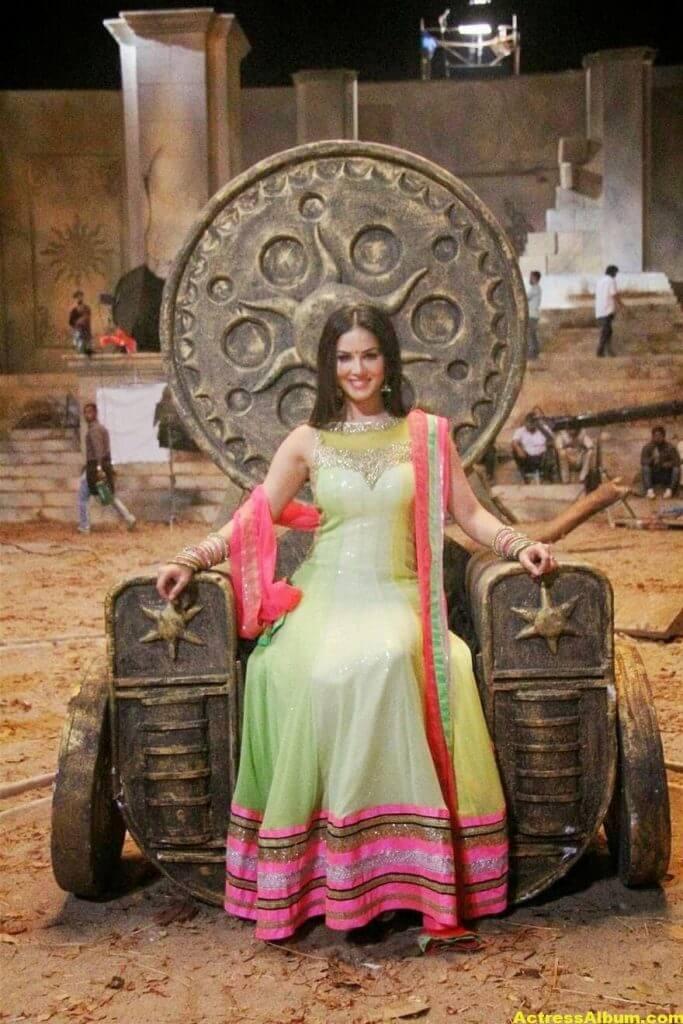 Sunny Leone Latest on Location Stills From Leela Movie 1