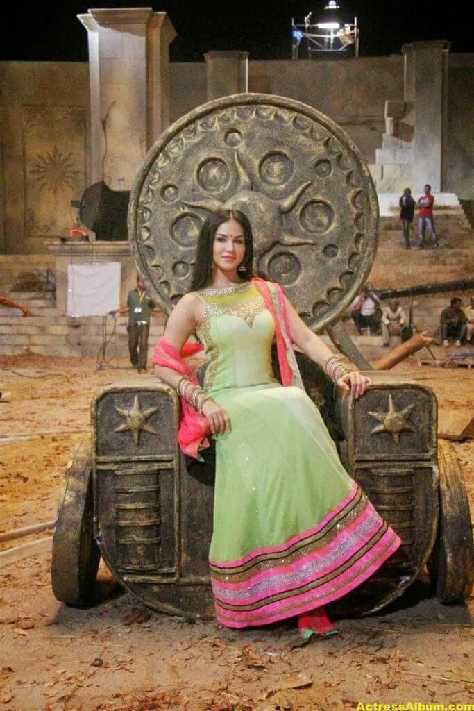 Sunny Leone Latest on Location Stills From Leela Movie 3
