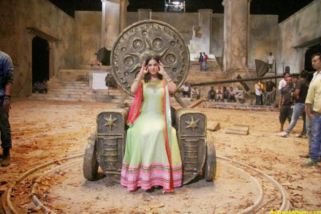Sunny Leone Latest on Location Stills From Leela Movie 5