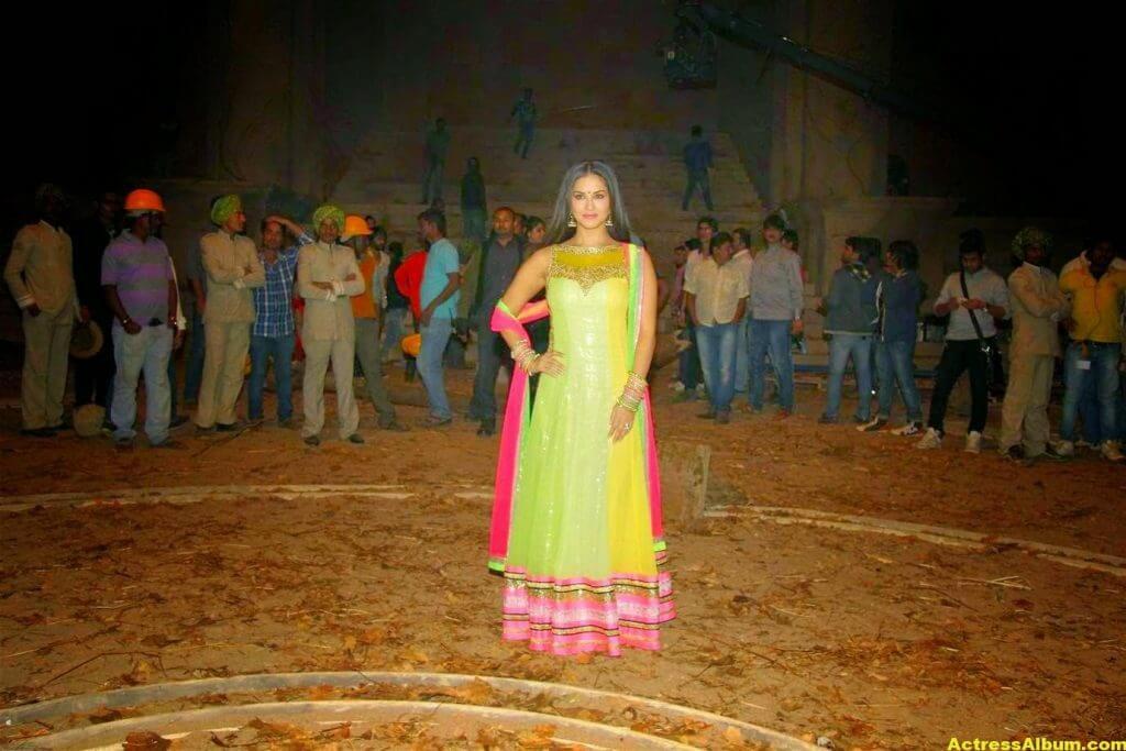 Sunny Leone Latest on Location Stills From Leela Movie 6