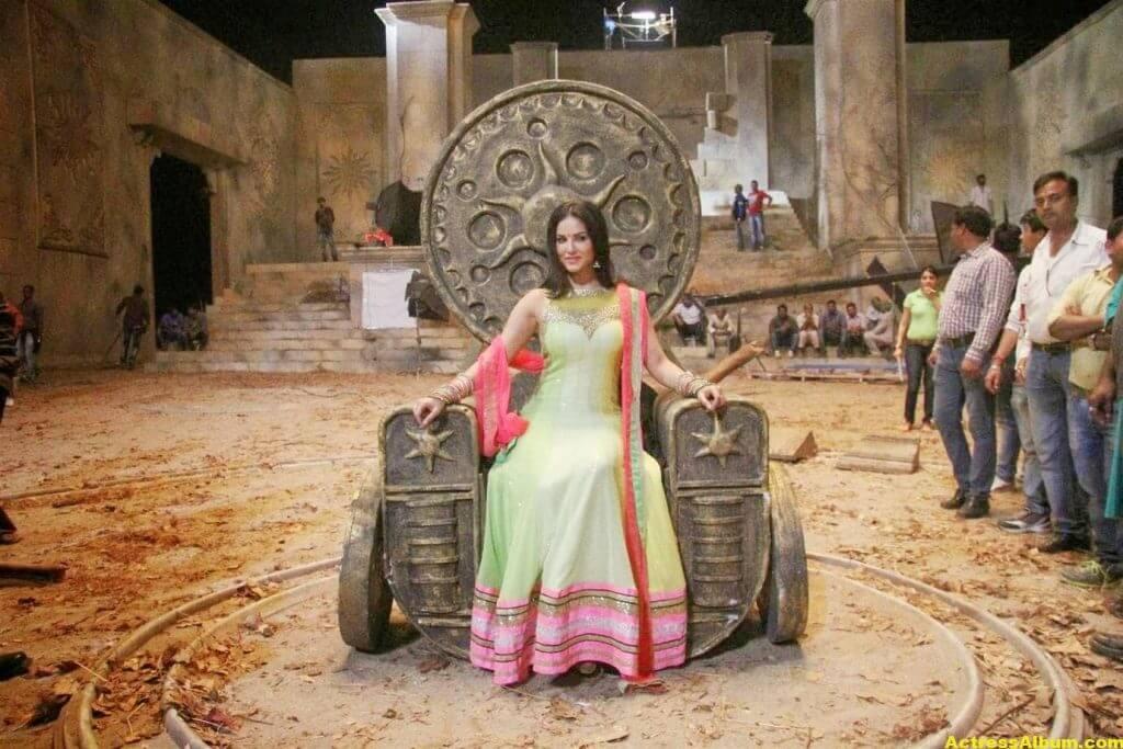 Sunny Leone Latest on Location Stills From Leela Movie 7