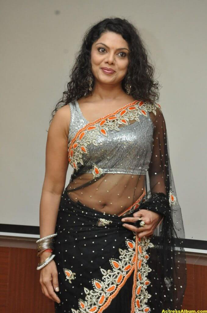 Swathi Varma Hot Photos In Saree 1