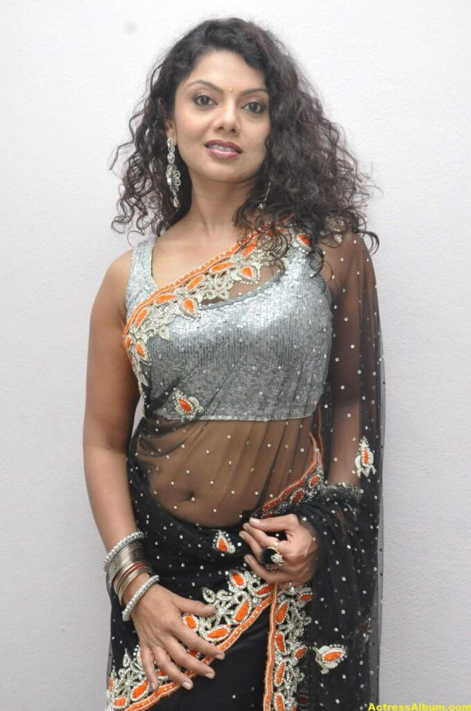 Swathi Varma Hot Photos In Saree 2
