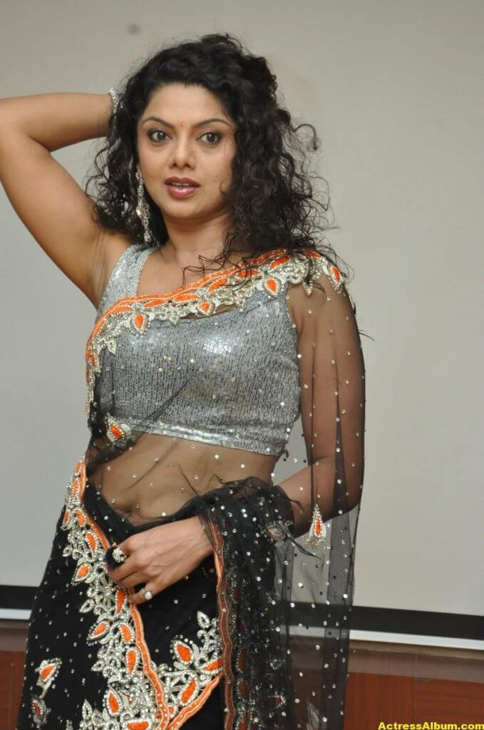 Swathi Varma Hot Photos In Saree 3