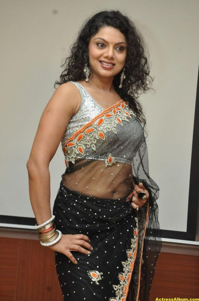 Swathi Varma Hot Photos In Saree 4