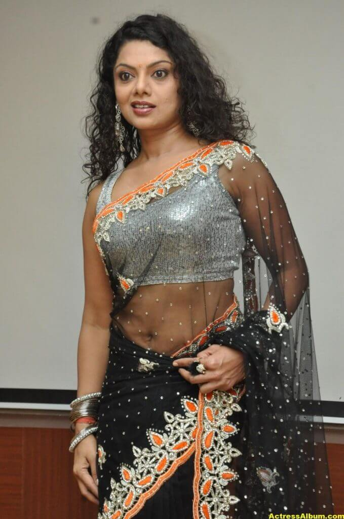 Swathi Varma Hot Photos In Saree 5