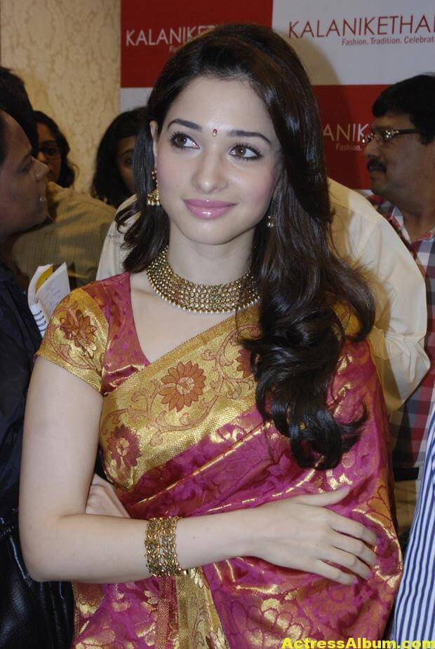 Tamanna At Kalanikethan Launch photos 2