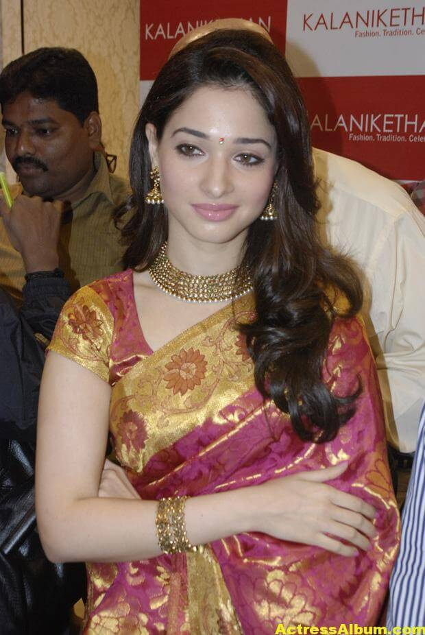 Tamanna At Kalanikethan Launch photos 8