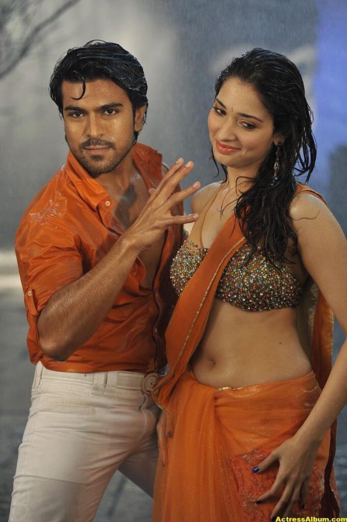 Tamanna Bhatia hot backless saree 7