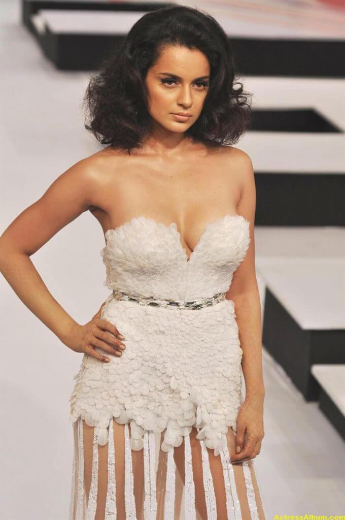 Actress Kangana Ranaut Milky Beauty Pictures 1