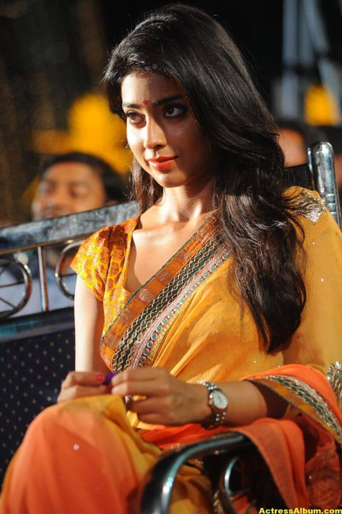 Actress Shriya Saran Latest Saree Photos 5