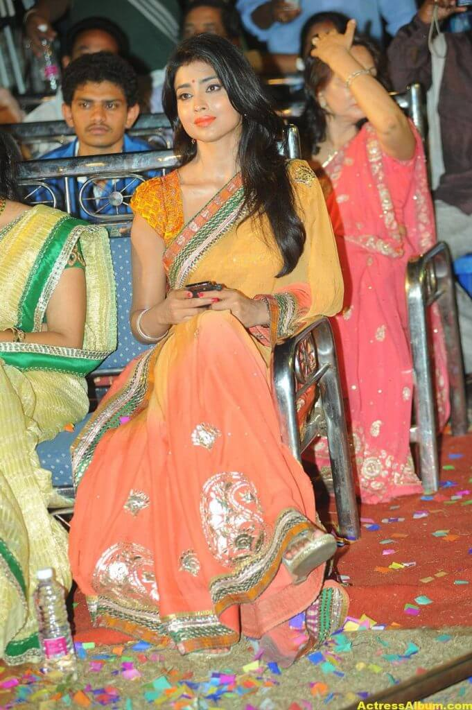 Actress Shriya Saran Latest Saree Photos 6