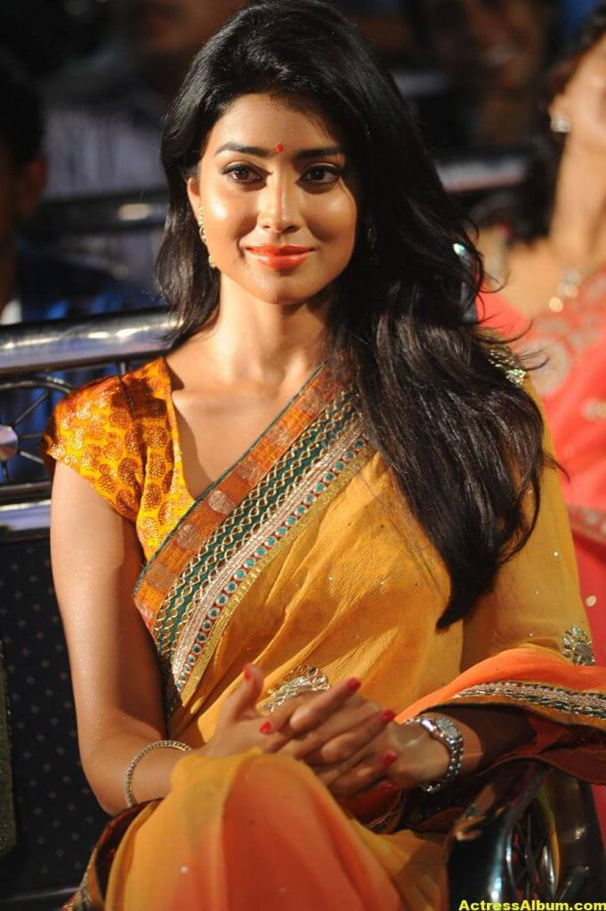 Actress Shriya Saran Latest Saree Photos 7