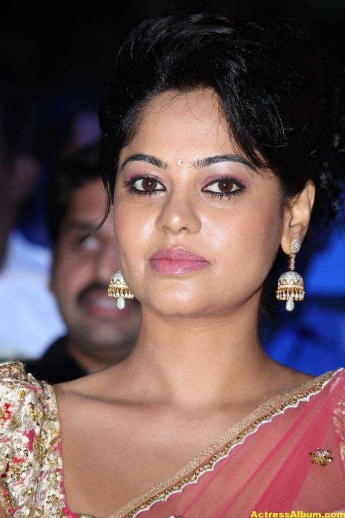 Bindu Madhavi Hot in Pink Saree 5