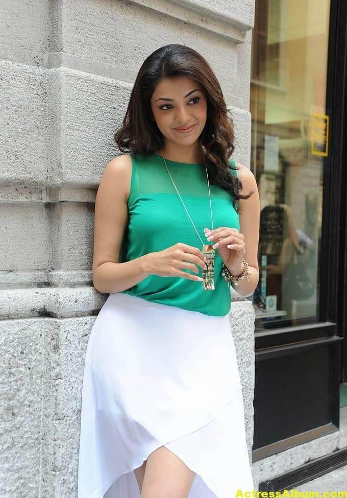 Kajal Agarwal latest photos in short skirt 2