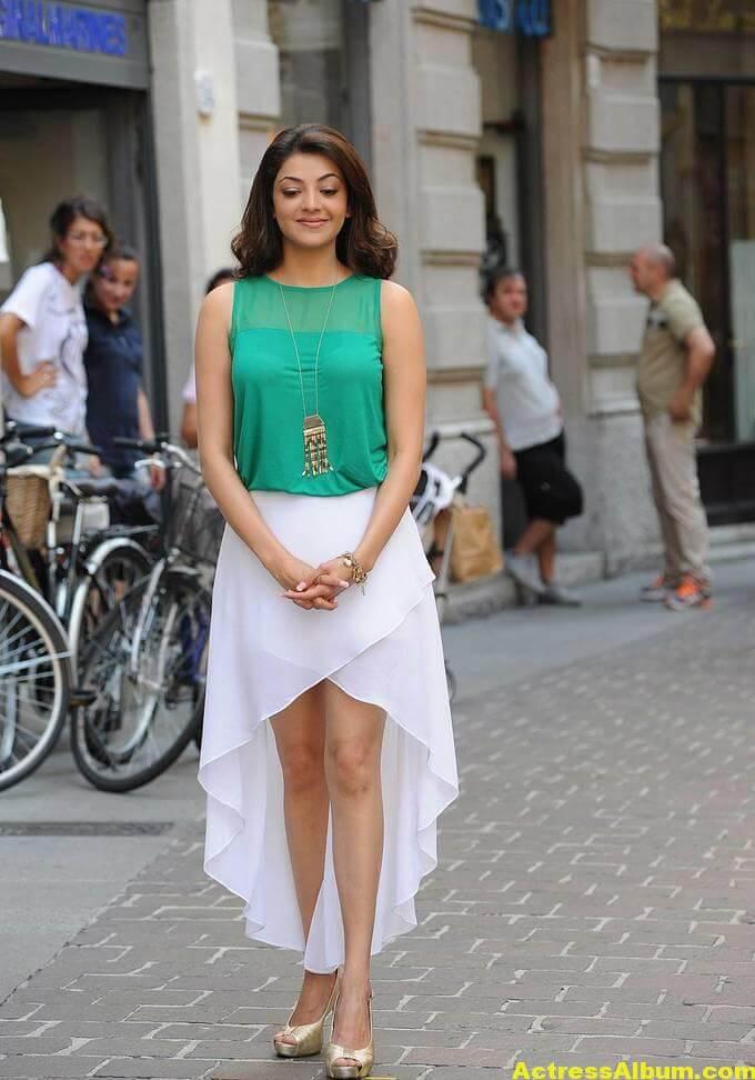 Kajal Agarwal latest photos in short skirt 6