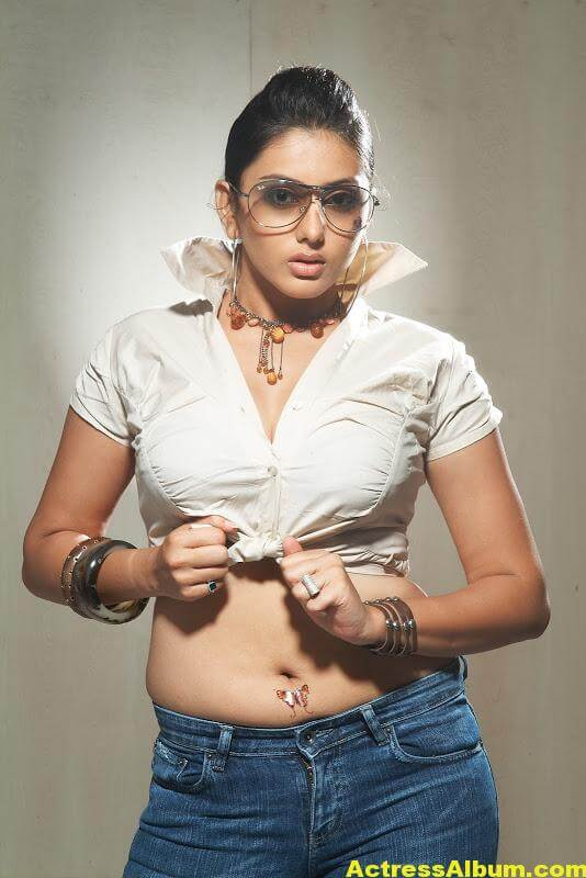 Namitha Hot Navel Show 2