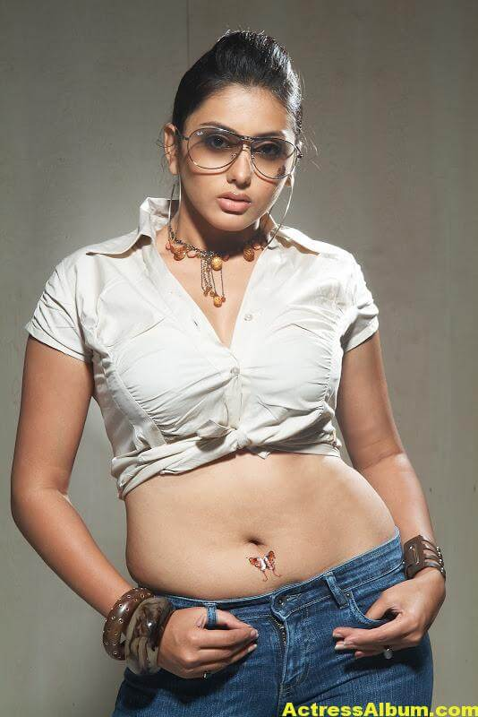 Tamil Actress Namitha Hot Navel Show - Actress Album-8287