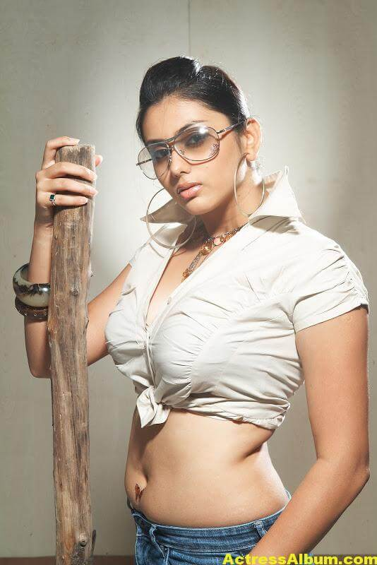 Namitha Hot Navel Show 7