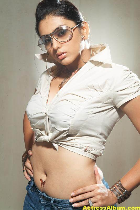 Namitha Hot Navel Show 8