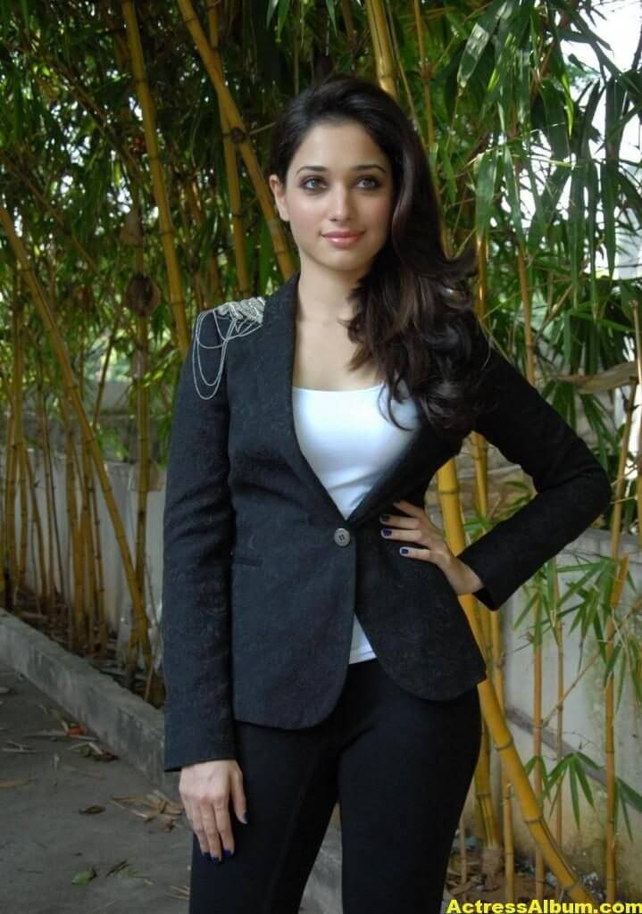 Tamanna latest black dress high quality photo shoots 3