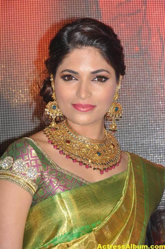 Tamil Actress Parvathy Omanakuttan Saree Stills 1