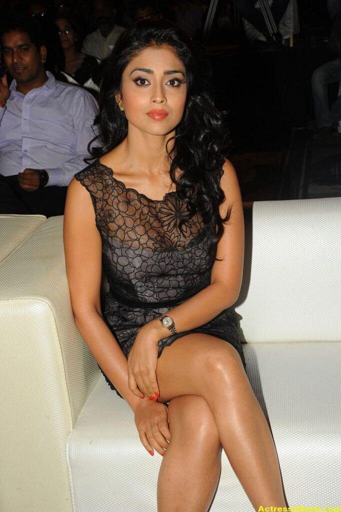 Tamil Actress Shriya Hot Dress 1