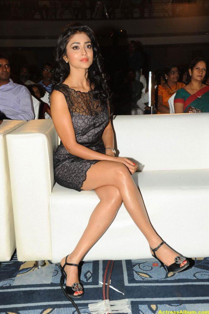 Tamil Actress Shriya Hot Dress 2