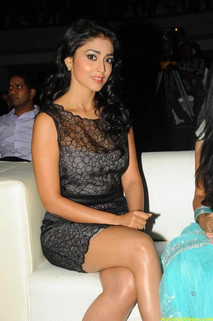 Tamil Actress Shriya Hot Dress 8