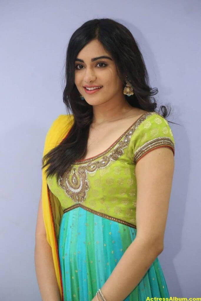 Actress Adah Sharma Hot In Yellow Dress 1