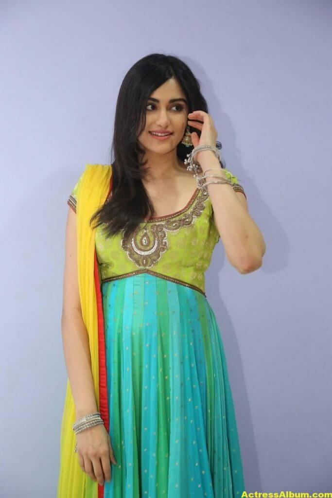Actress Adah Sharma Hot In Yellow Dress 2