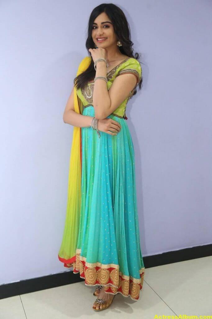 Actress Adah Sharma Hot In Yellow Dress 3